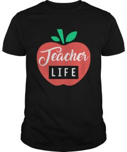 Teacher Pencil Shirt Teacher Life Apple  Unisex