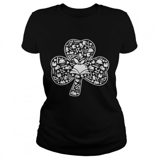 Teacher Shamrock Symbol St Patricks Day  Classic Ladies