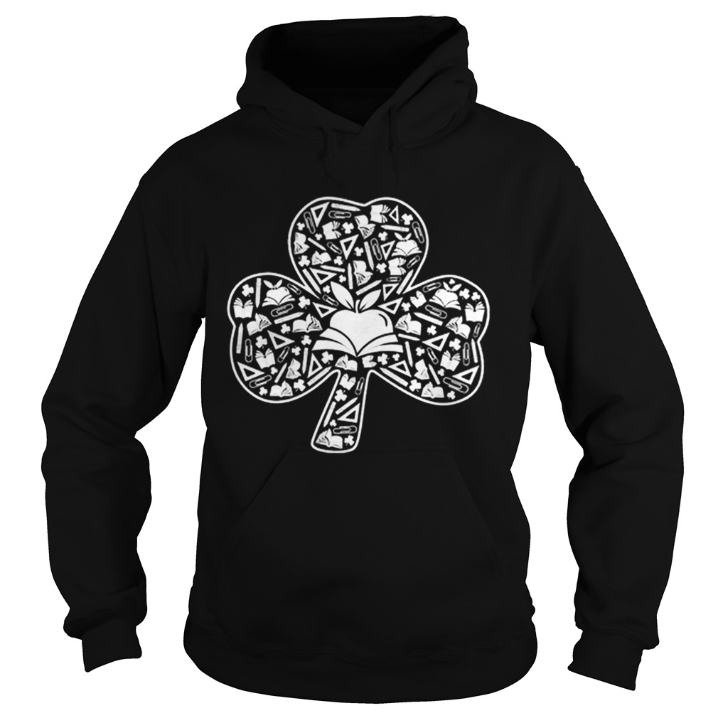 Teacher Shamrock Symbol St Patricks Day Hoodie
