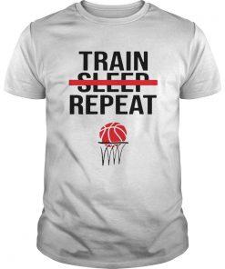 Train Sleep Repeat Basketball  Unisex