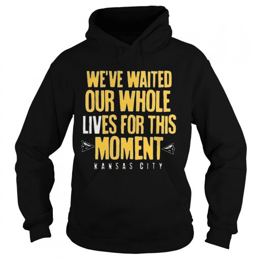 WEVE WAITED OUR WHOLE LIVES FOR THIS MOMENT  Hoodie