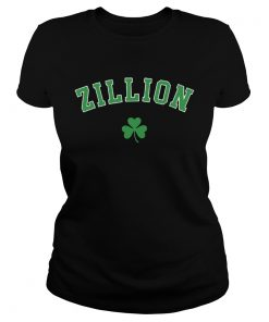 Zillion Beers Shamrock  Classic Ladies
