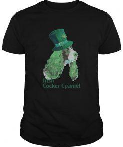 irish cocker spaniel st patricks day  Unisex