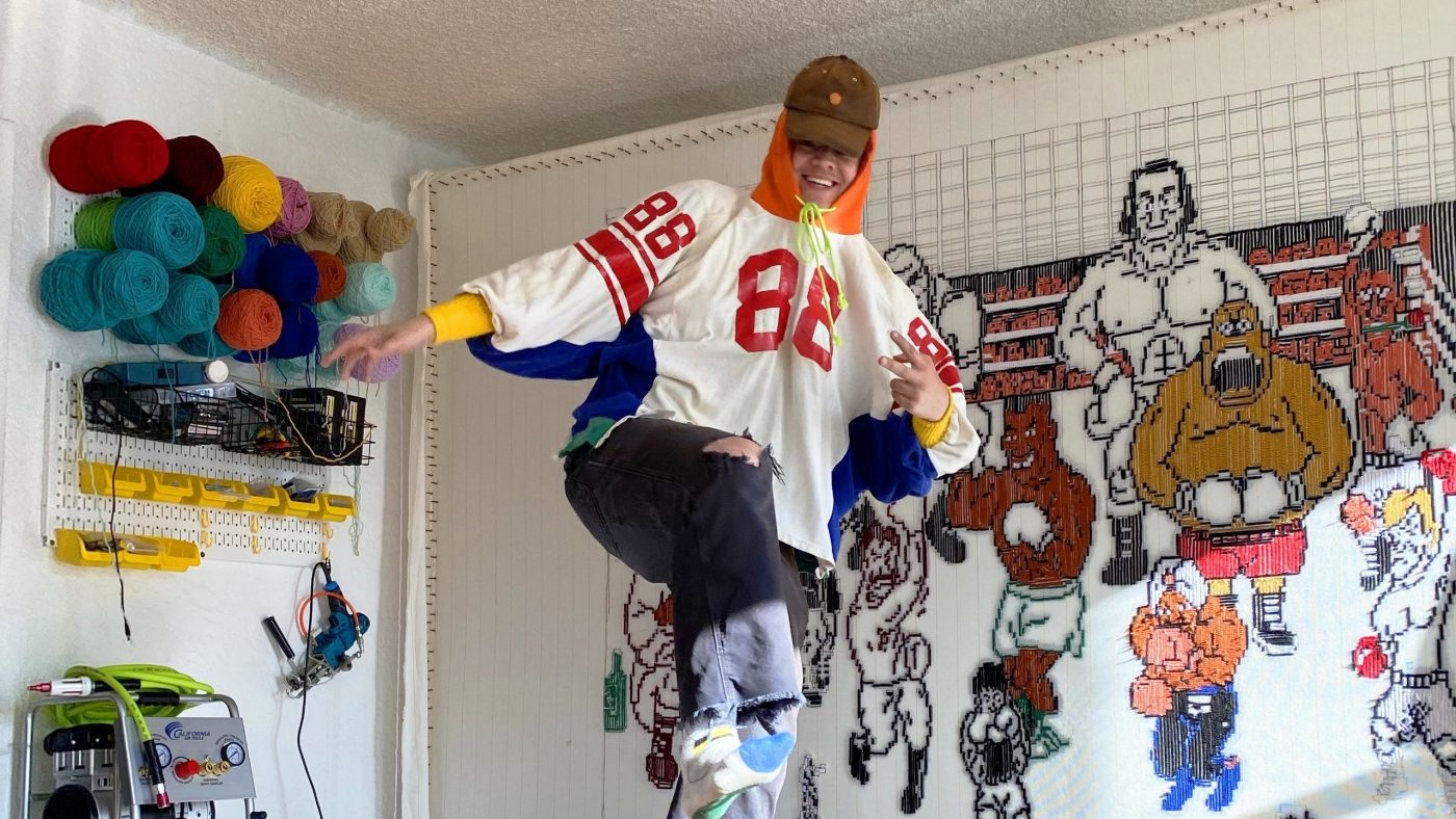 This Los Angeles Artist Is Redefining Music Merch One Handmade Sweatshirt at a Time