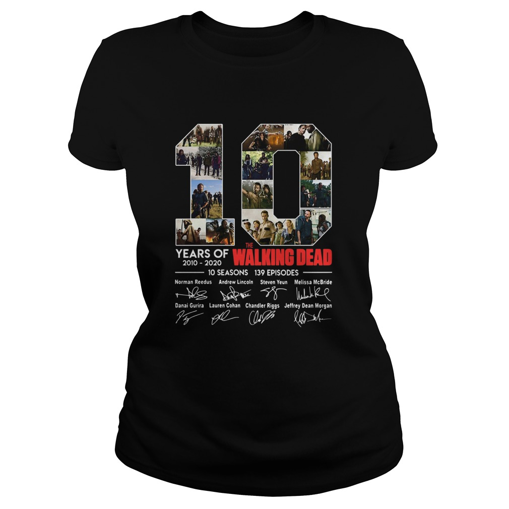 10 Years Of The Walking Dead Signature Classic Ladies