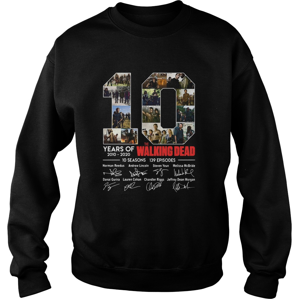 10 Years Of The Walking Dead Signature Sweatshirt
