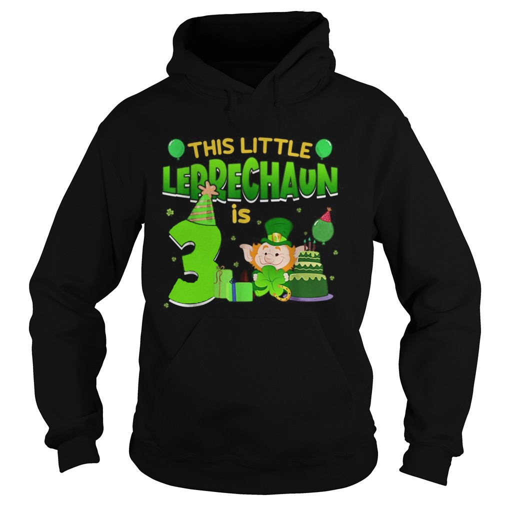 15835564243rd Birthday St. Patrick's Day Hoodie
