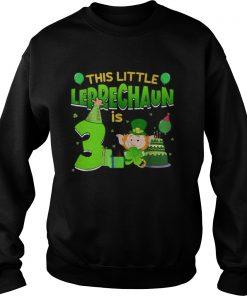 15835564243rd Birthday St. Patrick's Day  Sweatshirt