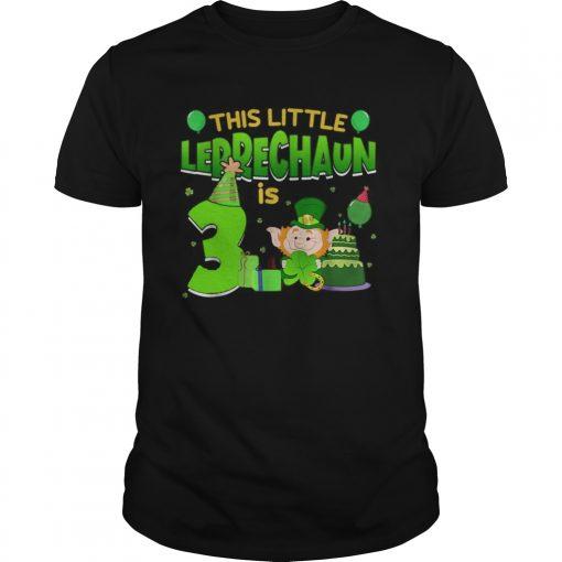 15835564243rd Birthday St. Patrick's Day  Unisex