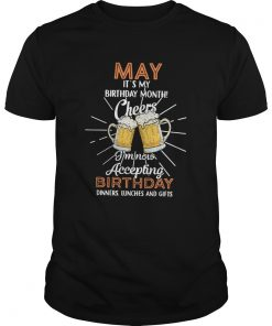 1584930362May it's my birthday month cheers I'm now accepting birthday dinners lunches and gifts  Unisex