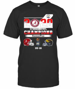 Alabama 2020 Citrus Bowl Champions Crimson Tide 35 16 T-Shirt Classic Men's T-shirt