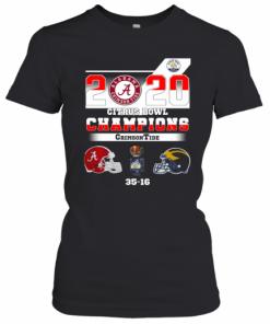 Alabama 2020 Citrus Bowl Champions Crimson Tide 35 16 T-Shirt Classic Women's T-shirt