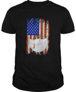 American flag Quarantined  Unisex