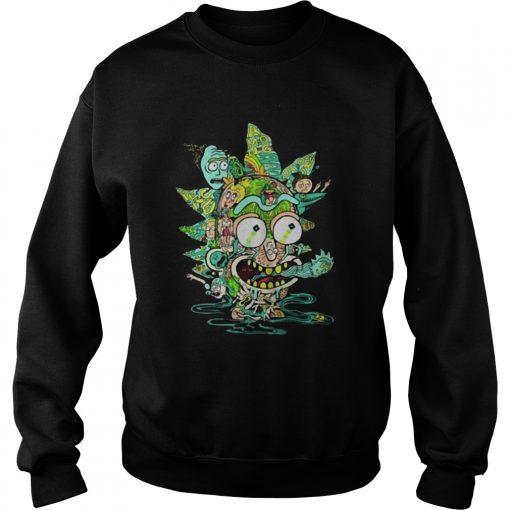 Among Worlds Rick And Morty  Sweatshirt