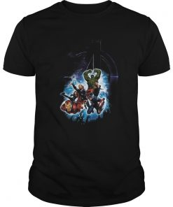 Avengers Iron Man Captain America Hulk Thor Black Widow  Unisex