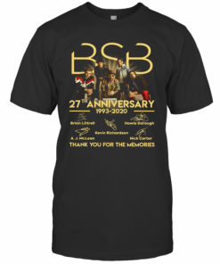 BSB 27Th Anniversary 1993 2020 Thank You For The Memories Signature T-Shirt Classic Men's T-shirt