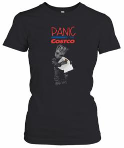 Baby Groot Hug Toilet Paper Panic At The Costco T-Shirt Classic Women's T-shirt