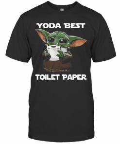 Baby Yoda Best Toilet Paper T-Shirt Classic Men's T-shirt