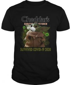 Baby Yoda Cheddars Scratch Kitchen Survived Covid 19 2020  Unisex