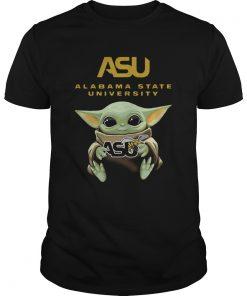 Baby Yoda Hug Alabama US  Unisex