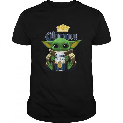 Baby Yoda Hug Corona Extra  Unisex