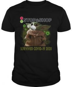 Baby Yoda StopShop Survived Covid 19 2020  Unisex