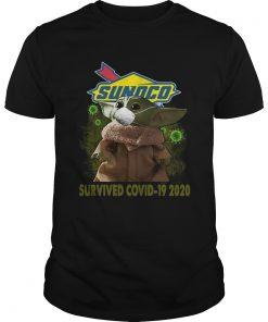 Baby Yoda Sunoco Survived Covid 19 2020  Unisex