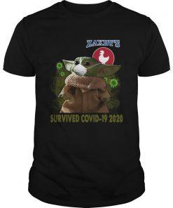 Baby Yoda Zaxbys Survived Covid 19 2020  Unisex