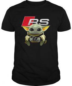Baby Yoda hug Audi RS  Unisex