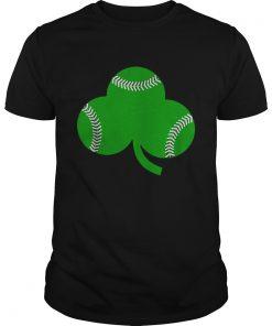 Baseball St Patricks Day Shamrock Irish Baseball  Unisex