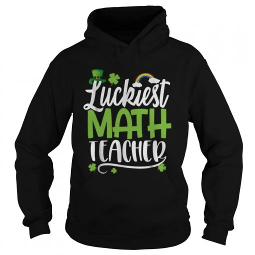 Beautiful Luckiest Math Ever Funny St Patrick Day  Hoodie