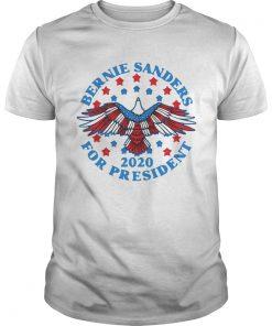 Bernie Sanders for President 2020 Eagle  Unisex