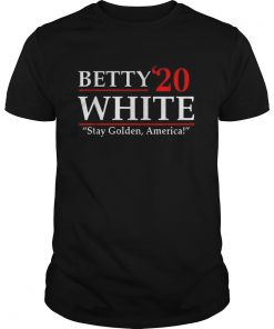 Betty20 White Stay Golden America  Unisex