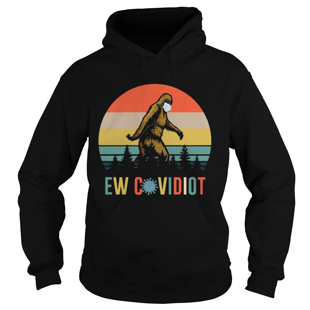 Bigfoot New Covid Iot vintage Hoodie