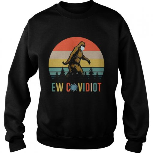 Bigfoot New Covid Iot vintage  Sweatshirt