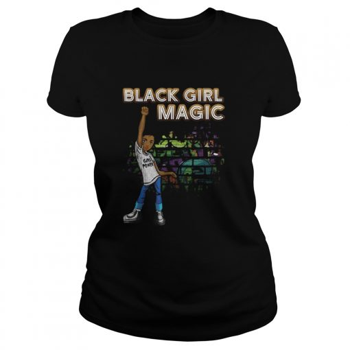 Black Girl Magic I Am Black History Phenomenal Woman Melanin  Classic Ladies
