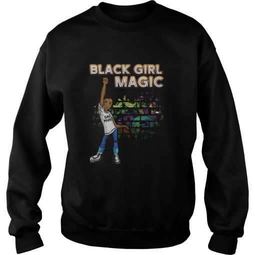 Black Girl Magic I Am Black History Phenomenal Woman Melanin  Sweatshirt
