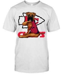 Boxer Tattoo Kansas City Chiefs T-Shirt Classic Men's T-shirt