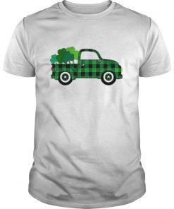 Buffalo Plaid Truck St Patricks Day  Unisex