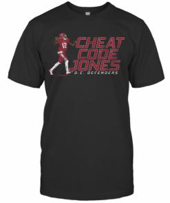 Cheat Code Jones Dc Defenders T-Shirt Classic Men's T-shirt