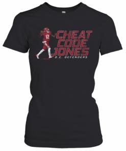 Cheat Code Jones Dc Defenders T-Shirt Classic Women's T-shirt