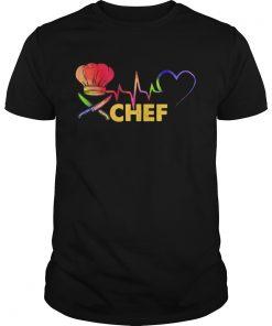 Chef heartbeat  Unisex