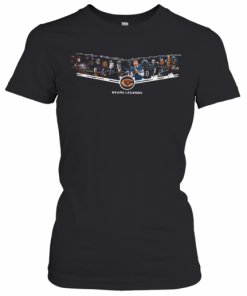 Chicago Bears Legends 6Id Luckman Doua Atkins Bulldog Turner Gale Sayers T-Shirt Classic Women's T-shirt