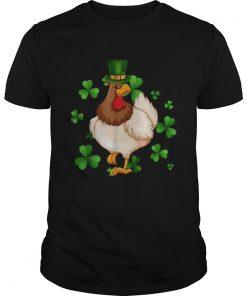 Chicken St Patricks Day Irish Chicken Lovers  Unisex