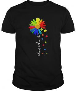 Choose Kind Flower Autism Awareness  Unisex