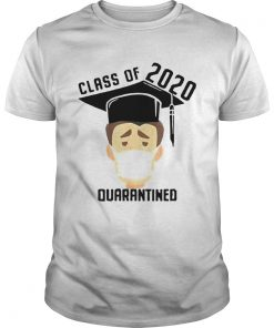 Class Of 2020 Quarantined Mask Graduating Senior Graduation  Unisex
