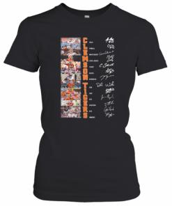 Clemson Tigers All Team Signatures T-Shirt Classic Women's T-shirt