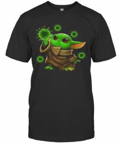Coronavirus Merch Baby Yoda T-Shirt Classic Men's T-shirt
