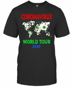 Cororavirus World Tour 2020 T-Shirt Classic Men's T-shirt