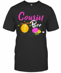 Cousin Bee Cute Sassy Honey Bee Mothers Day Gift T-Shirt Classic Men's T-shirt